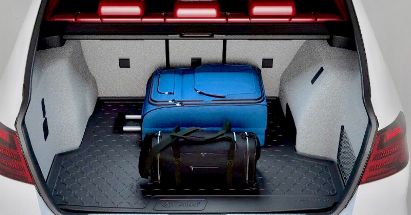 Korito prtljažnika je odlična zaščita